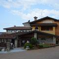 Veduta del ristorante Valpiana di Serle (Brescia)