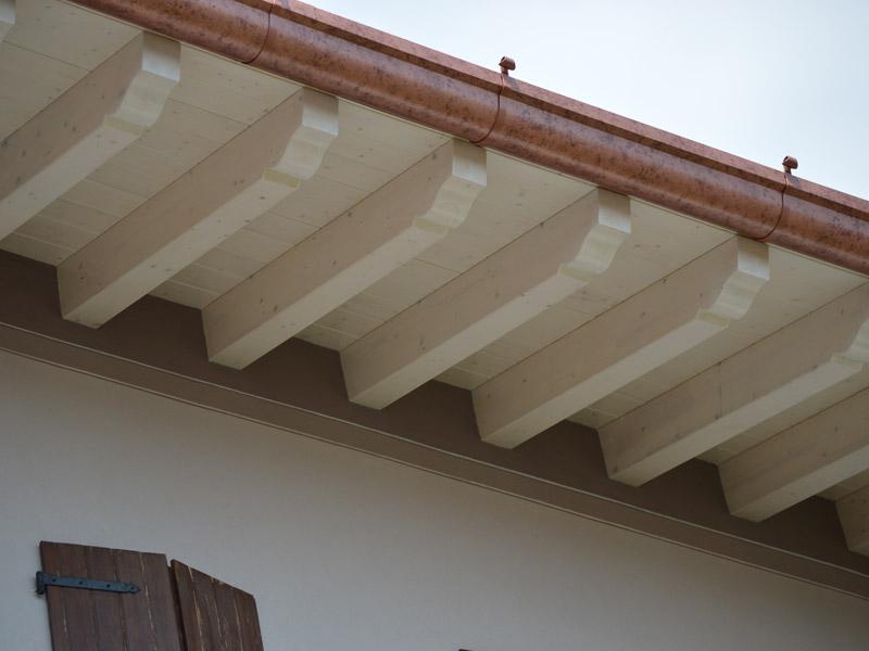 Soffitto Travi Legno Vista: Soffitti in legno con travi a ...