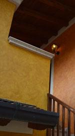 Tinteggiatura facciata esterna del ristorante Valpiana di Serle (Brescia)
